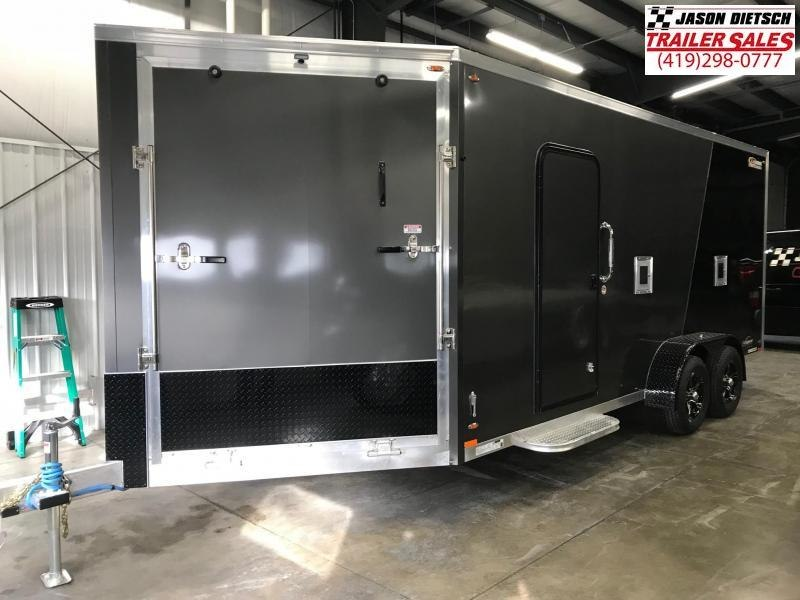 2019 Legend Manufacturing 7X23 EXPLORER EXTRA HEIGHT Snowmobile Trailer....STOCK LG-317374