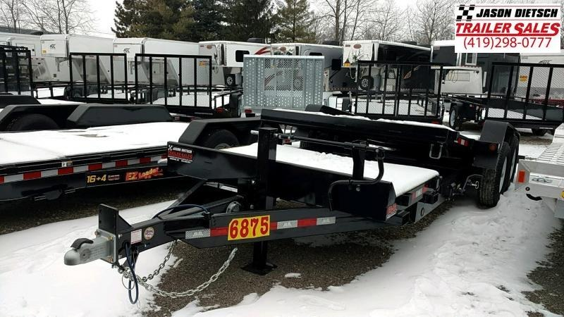 2019 Behnke 83X20 14K TILT Equipment Trailer....STOCK# BB-047893