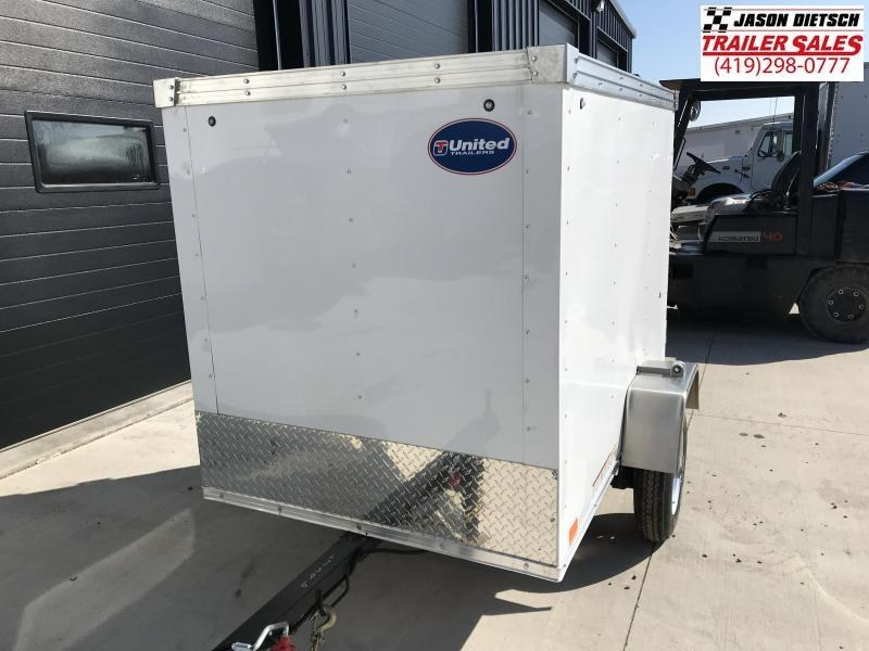 2019 United Trailers XLE 4X6 Enclosed Cargo Trailer....STOCK# UN-167396