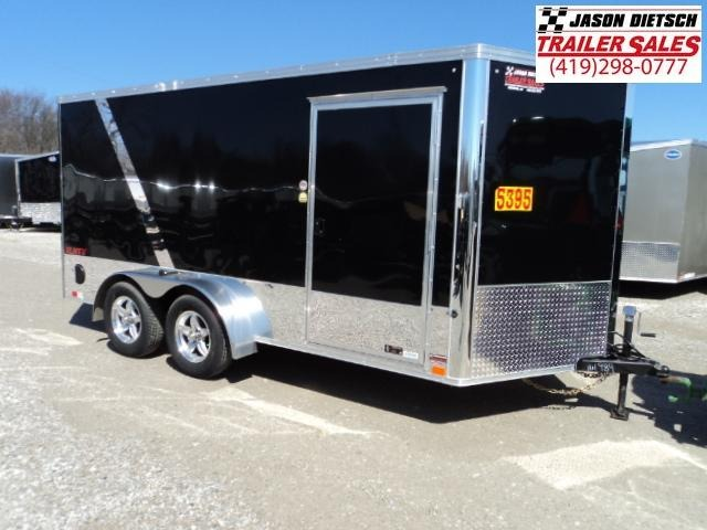 2018 United Trailers XLMTV 7x14 Wedge-Nose Enclosed Car Hauler....Stock # UN-161989