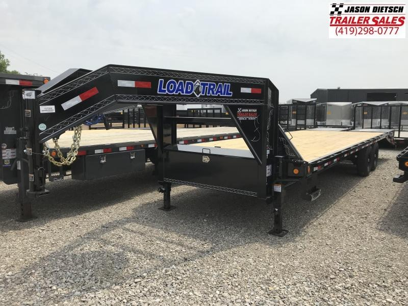 2018 Load Trail 102X28 Tandem Heavy Duty Gooseneck Equipment Trailer.... Stock# LT-167956