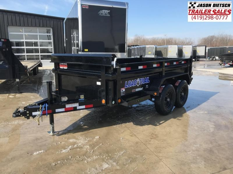 2019 Load Trail 72X12 Tandem Axle Dump Trailer....STOCK# LT-182625