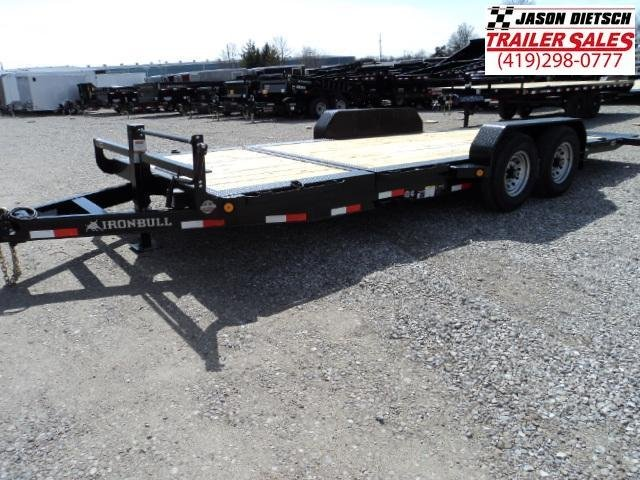 2018 Iron Bull 83X20 TILT Equipment Low Pro Trailer STOCK- 020090