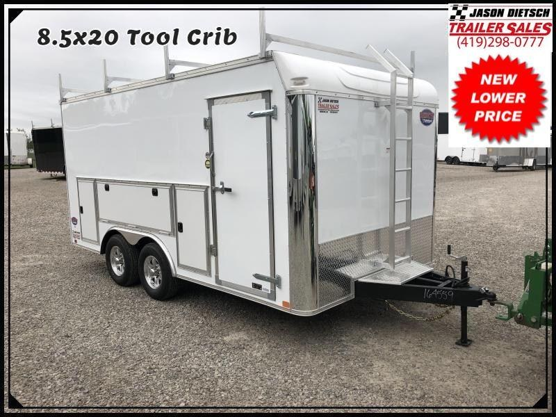 2016 United Trailer UXT 8.5x20 Enclosed Tool Crib Trailer....Stock#UN-9531