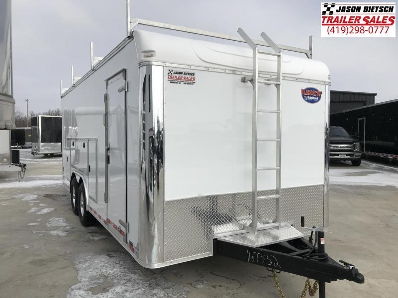 2019 United Trailer UXT 8.5x20 Enclosed Tool Crib Trailer....Stock#UN-167332