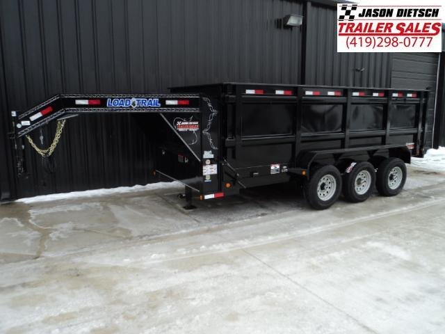 2018 Load Trail GD 83x16 Tandem Axle Gooseneck Dump Trailer....Stock#LT-50981