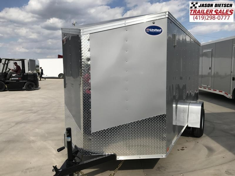2020 United XLV 6X12 V-Nose Slant Enclosed Cargo Tr....Stock# UN-168726