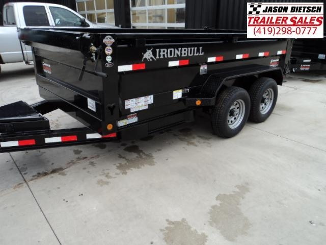 2018 Iron Bull 72x12 Tandem Axle Dump Trailer....Stock#IB-5166