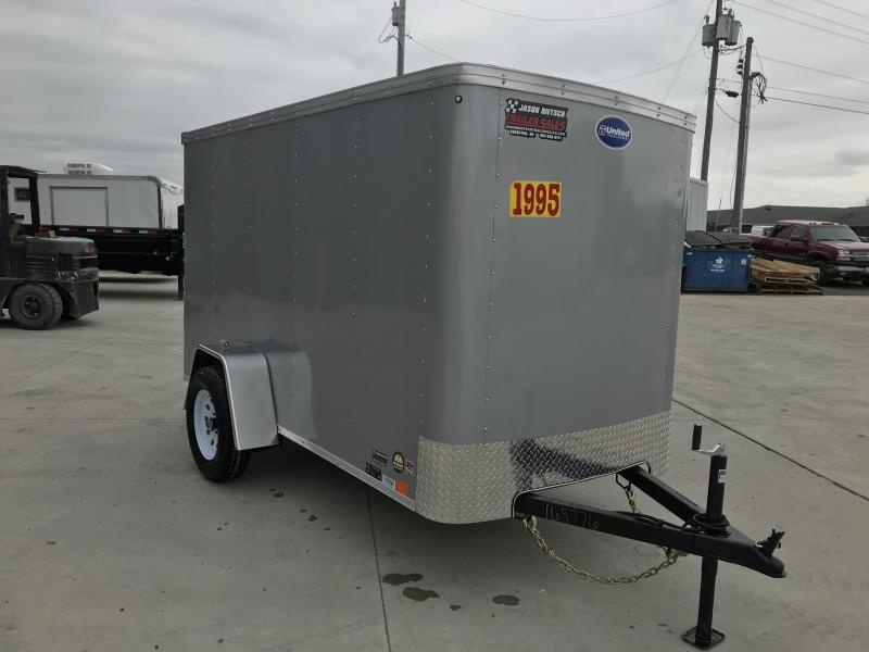 2020 United XLE 5X10 Enclosed Cargo TRAILER....Stock# UN-168776
