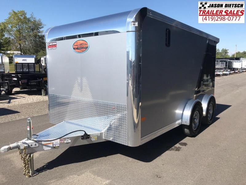 2019 Sundowner Trailers 7.5X14 Motorcycle Trailer....STOCK# SD-CA2903