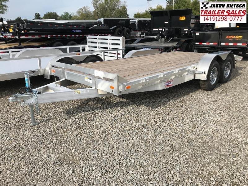 2018 American Hauler Industries 8X18 Equipment Trailer....STOCK # AH-066229