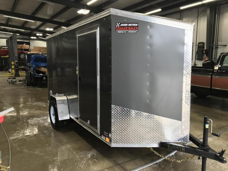 2020 United XLV 6X12 V-Nose Slant Enclosed Cargo Tr....Stock# UN-168473
