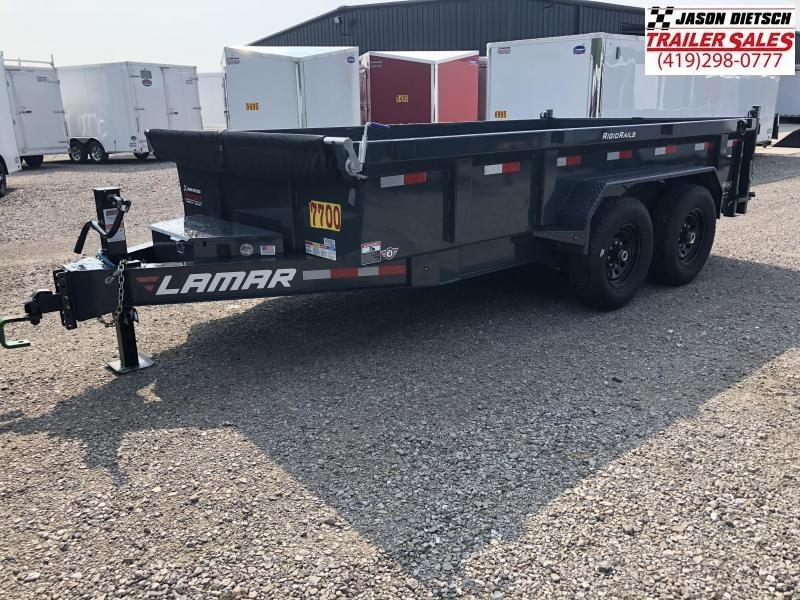 2019 Lamar Trailers 83X14 LOW PRO Dump Trailer....STOCK# LM-069521