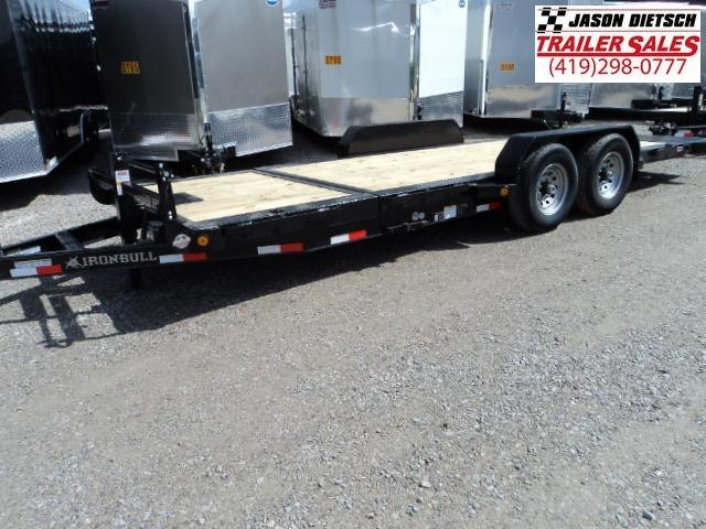 2018 Iron Bull 83X20 TILT Low Pro Equipment Trailer STOCK- 020093