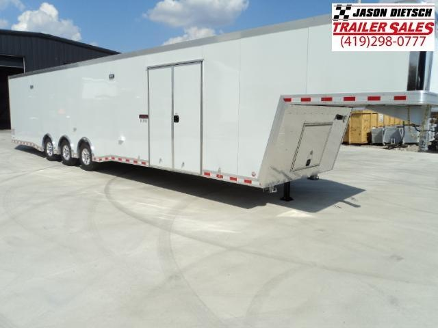 2018 Bravo Trailers 8.5x44 Aluminum Icon Enclosed Gooseneck Trailer....Stock# BR-21026