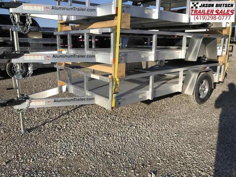 2018 ATC 6x12 All Aluminum Utility Trailer....Stock#AT-213355