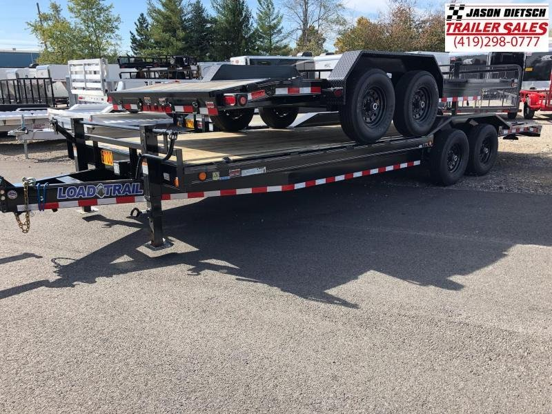 2019 Load Trail 102X24 Tandem Axle Carhauler....STOCK# LT-174670