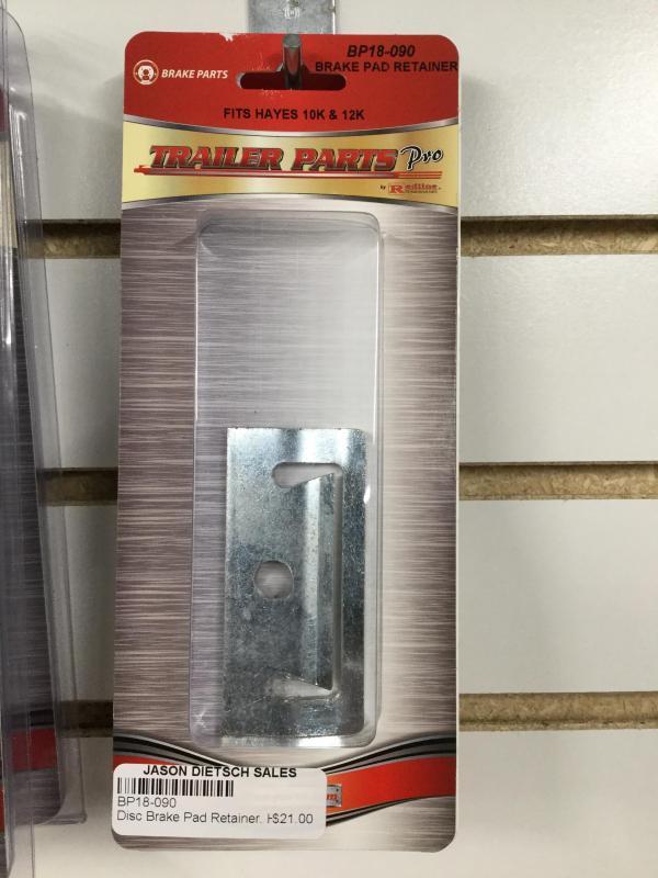Disc Brake Pad Retainer