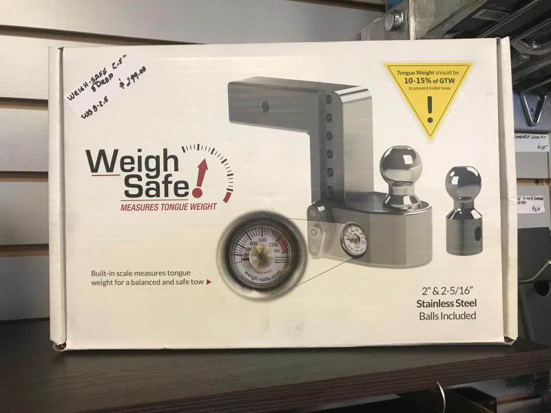 Weigh Safe Tongue Weight Hitch for 2.5RX