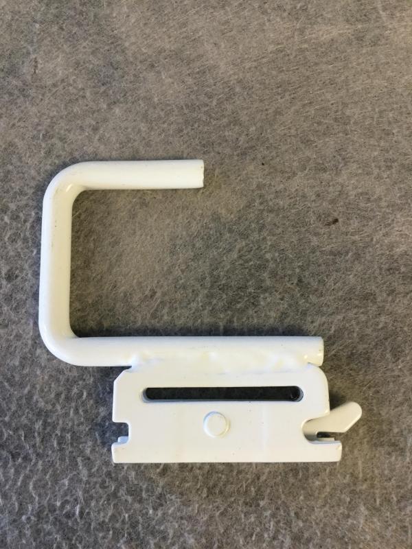 E-Track White Hook