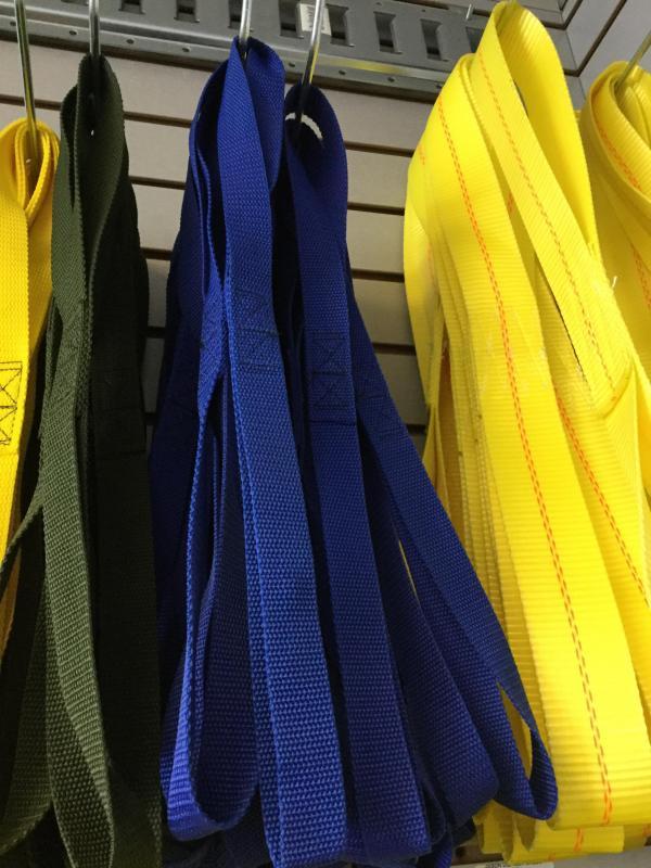 Blue M/C Tie Strap