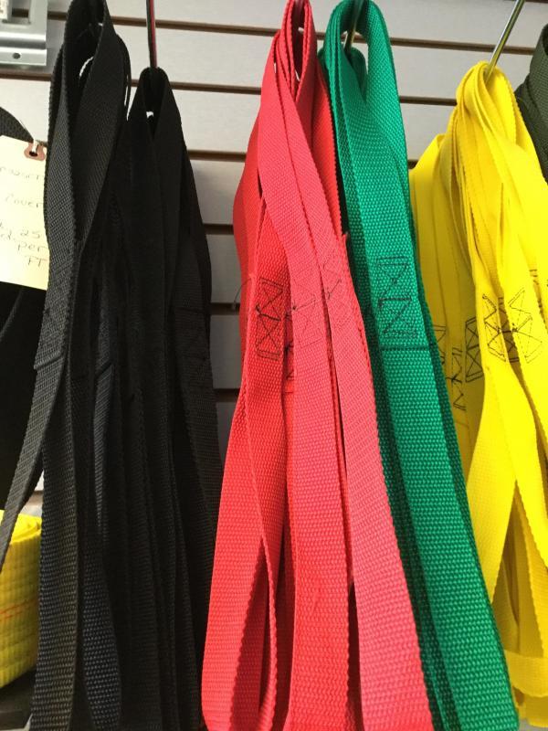 Red M/C Tie Strap