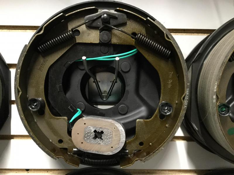 10x2.25 Left Brake assembly