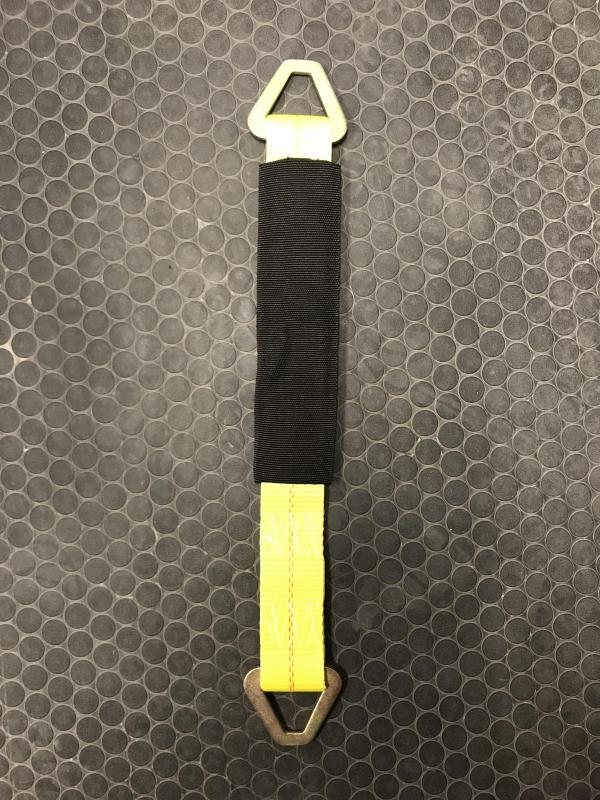 "Yellow 21"" Axle Strap"