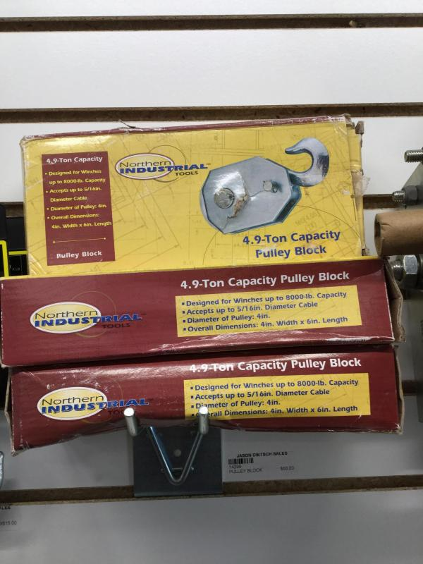 Pulley Block (4.9 Ton Capacity)