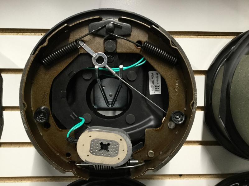 10x2.25 left s/a brake assembly