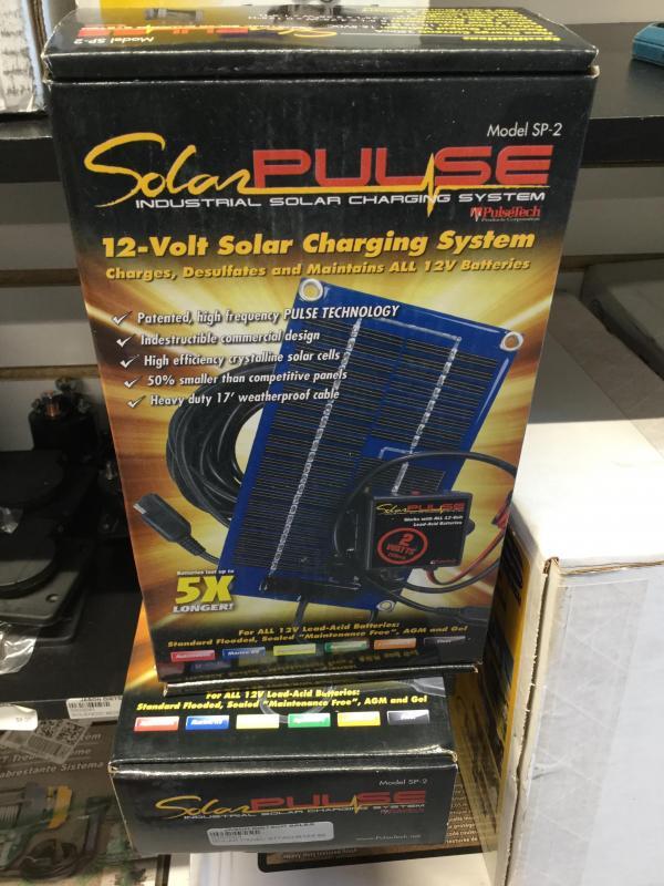 12-Volt Solar Charging System