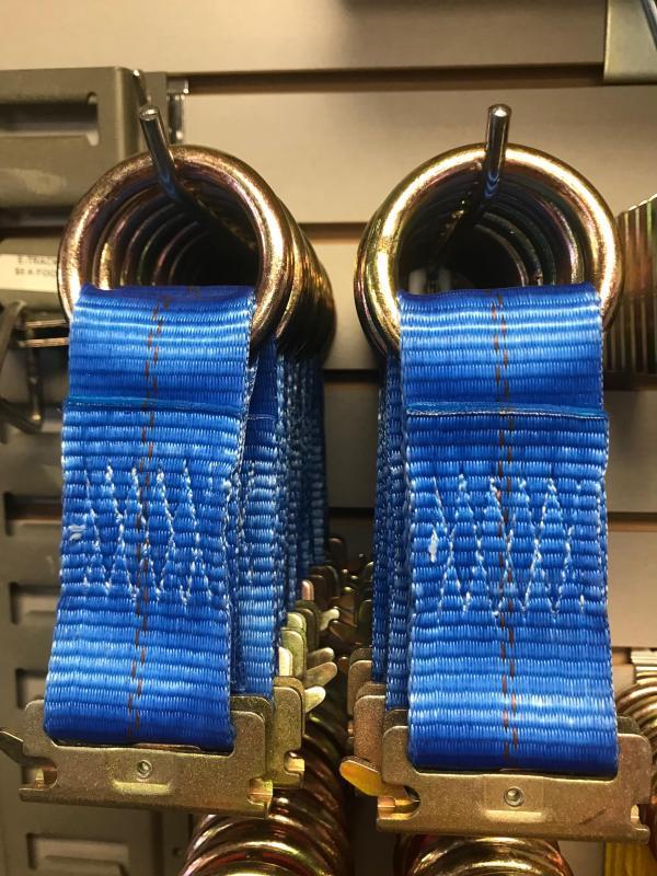 E-Track Tie Down Blue