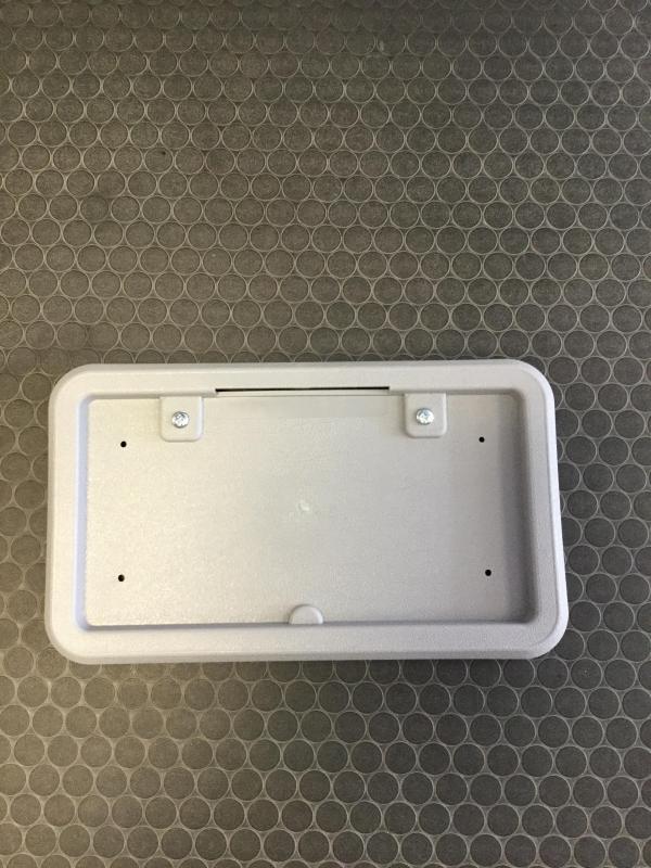 Grey Liscense Plate Bracket