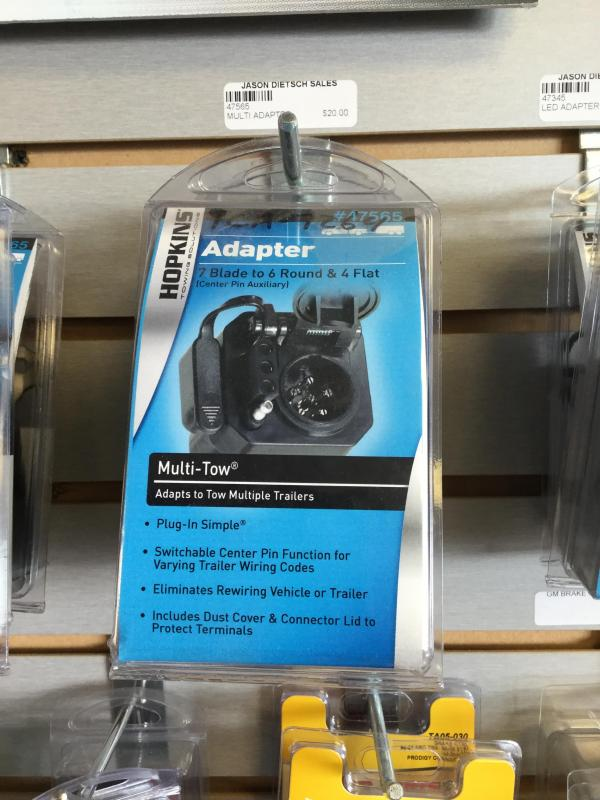 Multi Adapter for 7 blade to 6 round & 4 Flat