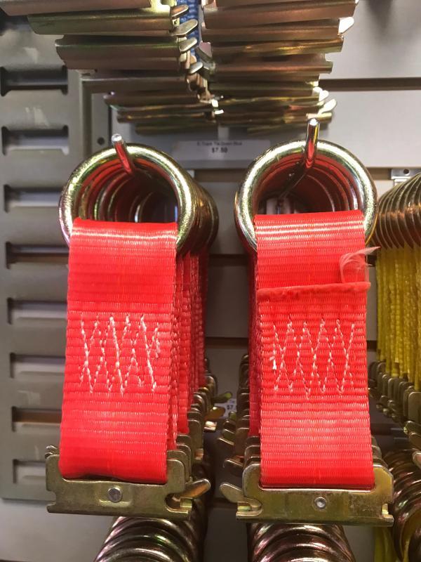E-Track Tie Down Red