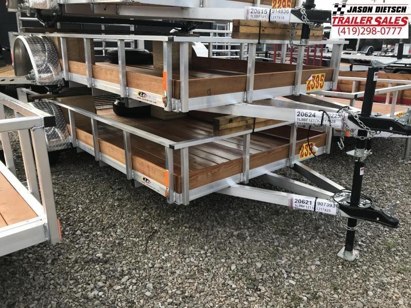 2019 Legend Manufacturing 6X12 ALUMINUM Utility Trailer....STOCK# LG-317570