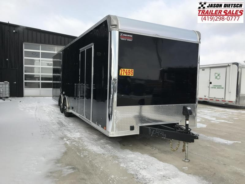 2019 United Trailer GEN#4- 8.5x28 Extra Height Enclosed Race Trailer....Stock#UN-160486