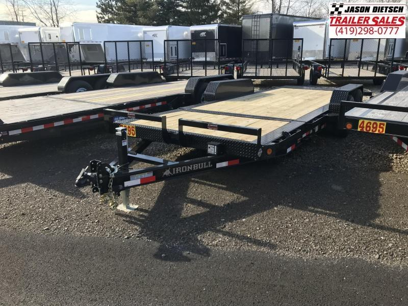 2018 Iron Bull 83x20 Tandem Axle Low Pro Tilt Equipment Trailer....Stock#IB-5960