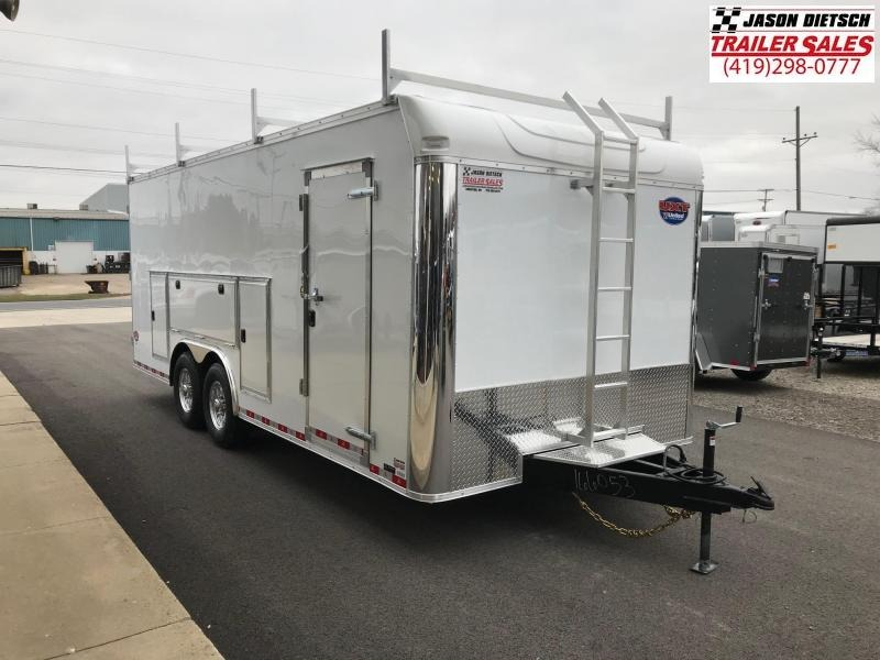 2019 United Trailer UXT 8.5x20 Enclosed Tool Crib Trailer....Stock#UN-166053