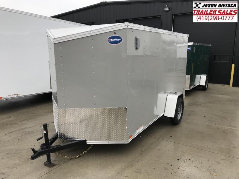 2019 United XLV 6X12 V-Nose Slant Enclosed Cargo Tr....Stock# UN-164831