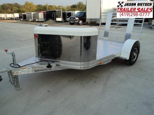 2018 SunDowner Motorcycle Trailer Stock#SD-6689