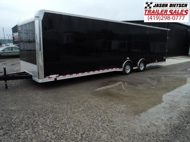 2018 United Trailer UXT 8.5x32 Enclosed Extra Height Carhauler....Stock#UN-158463