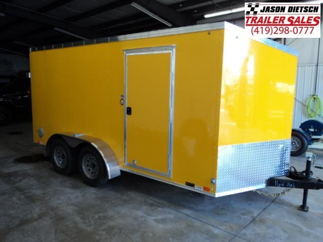 2019 United Trailers XLV 7x14 V-Nose Enclosed Cargo Trailer....Stock# UN-162761