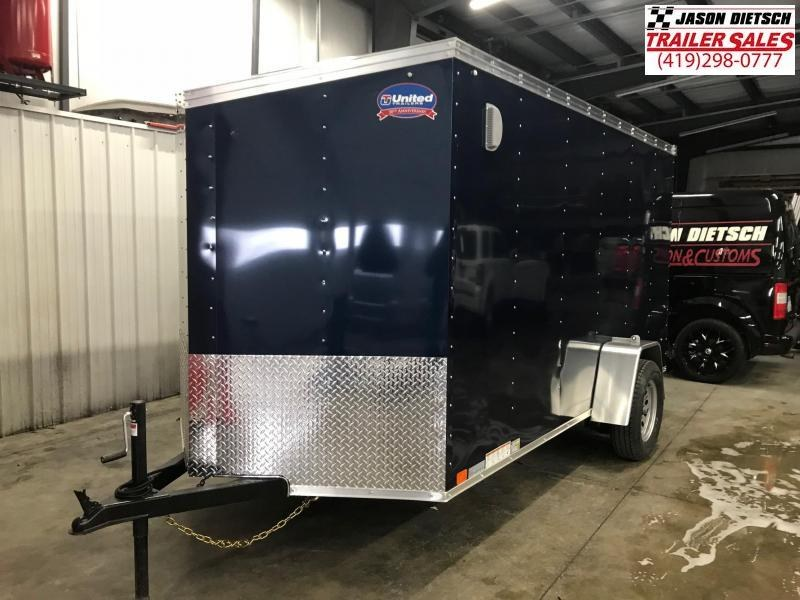 2019 United XLV 6X12 V-Nose Slant Enclosed Cargo Tr....Stock# UN-164837