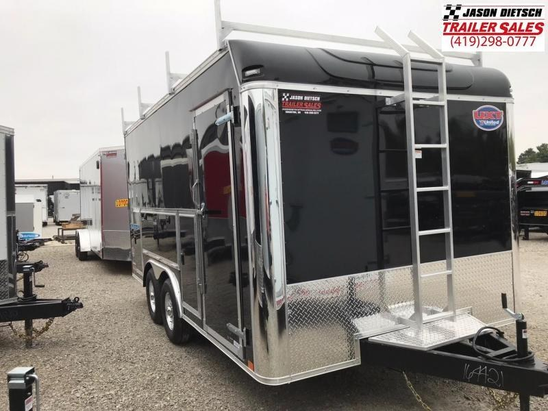 2019 United Trailers UXT 8.5x16 Enclosed Tool Crib Trailer....Stock # UN-164697