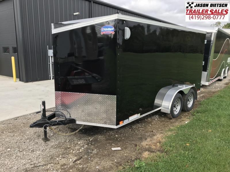 2019 United Trailers XLV 7x14 V-Nose Enclosed Cargo Trailer....Stock# UN-162776