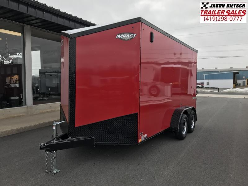 2019 Impact Trailers 7x14 EXTRA HEIGHT Enclosed Cargo Trailer....IMP001545
