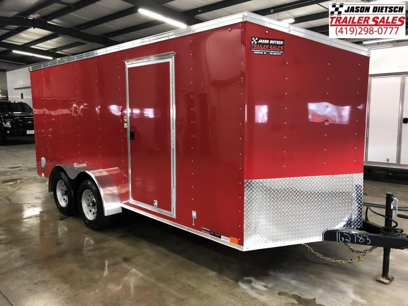 2019 United Trailers XLV 7x14 V-Nose Enclosed Cargo Trailer....Stock# UN-162783