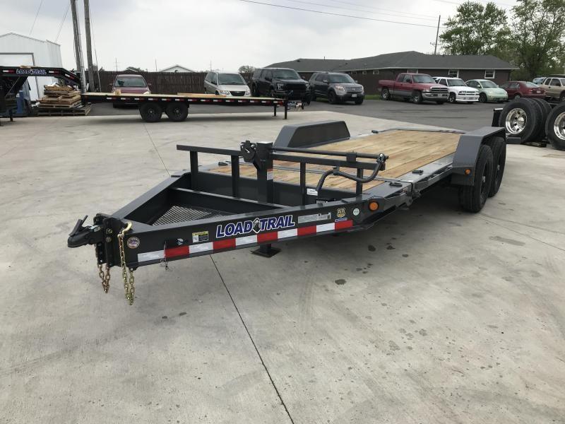2019 Load Trail 83X18 Tilt-n-go Tandem Axle Equipment Trailer....STOCK# LT-5947
