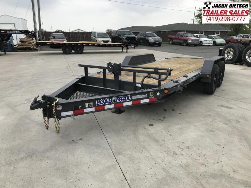 2019 Load Trail 83X18 Tilt-n-go Tandem Axle Equipment Trailer....STOCK# LT-5947